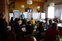 prezentace výstupů práce ve skupinách (foto: Petr Birklen)