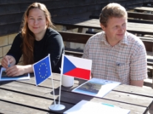 účastníci workshopu (foto: Jana Laciná)