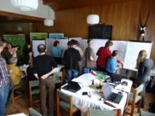 hodnocení skupinové práce (foto: Jana Laciná)