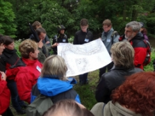 diskuze nad plánem parku (foto: Jana Laciná)